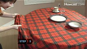 Make A Picnic Table Cover by How To Pull Off The Tablecloth Trick Youtube