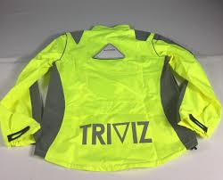 fluorescent cycling jacket proviz triviz reflective and fluorescent cycling jacket day or