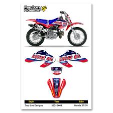 motocross bike graphics xr70 graphics decals emblems ebay