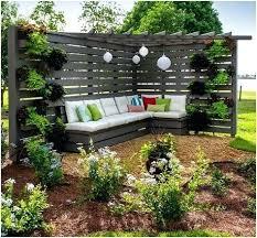Backyard Privacy Ideas Cheap Backyard Privacy Attractive Backyard Privacy Landscaping Ideas Big