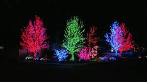 crazy christmas tree lights south jordan utah house with crazy christmas lights youtube