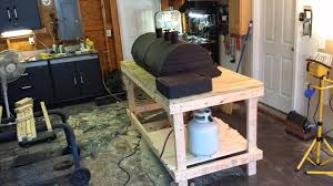 how to build a weber grill table grill table grill mountv2 how to build a rolling grill cart