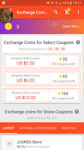 aliexpress help neeeeeed help i exchanged 20 coins for aliexpress select coupon in