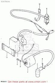 suzuki rm 125 1983 wiring diagram suzuki rm125 service manual