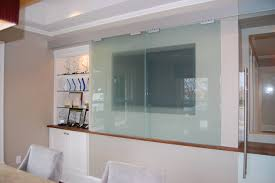 Houzz Patio Doors by Wood And Glass Partition Houzz