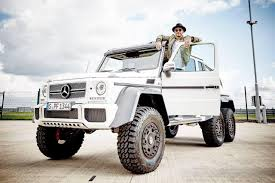 mercedes pickup truck 6x6 lewis hamilton shows off his mercedes benz g 63 amg 6x6 mercedesblog