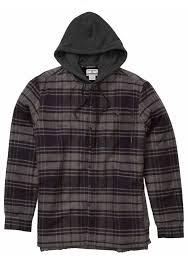 baja sweater mens shop baja sherpa flannel by billabong m512mbas on s surfboards