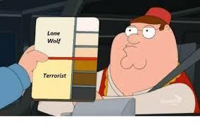 Lone Wolf Meme - lone wolf ferrorist wolf meme on sizzle