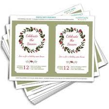 printable invitations christmas holiday