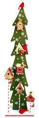 nicole crafts birdhouse tree christmas craft christmas