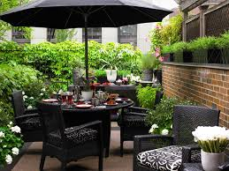 Patio Table Umbrellas Styles Sears Outdoor Dining Sets Small Patio Table With
