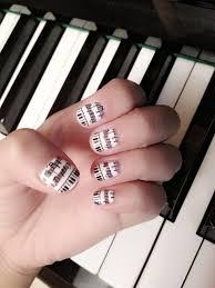 sharp as nails a nail art blog music inspired nail art