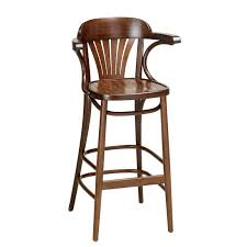 Extra Tall Outdoor Bar Stools Fan Back Bentwood Bar Stool With Arms Indoor And Outdoor