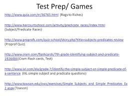 entry 40 subject predicate notes ppt video online download