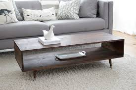 Design Your Own Coffee Table Build Your Own Mid Century Modern Coffee Table For 60 Bay On A