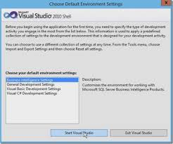 visual studio reset application settings how to deploy multidimensional data cube using visual studio