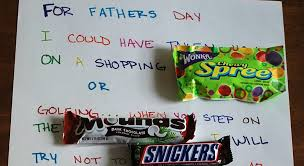 candy cards candy bar fathers day card pinned by