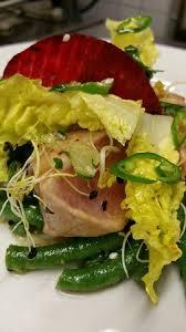 cuisiner des haricots verts frais tataki de thon de st jean haricots verts frais picture of