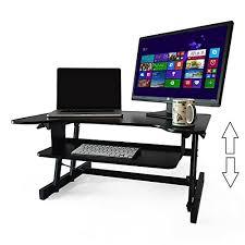 office furniture standing desk adjustable standing desk the deskriser height adjustable sit sta for