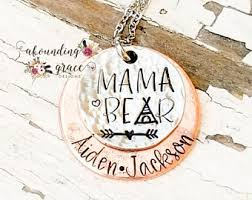 unique mothers jewelry rustic metal jewelry etsy