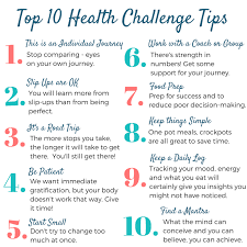 Challenge Tips The Dish 13 Clean Health Challenges Tips For