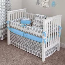 Elephant Crib Bedding Set Ele Blue Crib Bedding Set Beautiful Blue Elephant Crib Bedding