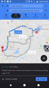 Walking Map App Update Official U0027motorcycle Mode U0027 In Google Maps Is Popping Up