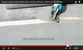 impermeabilizzazione terrazzi mapei guaina liquida bicomponente ad alta elasticità betonguaina s
