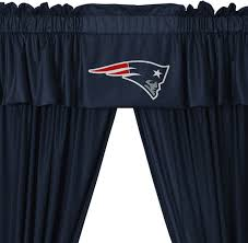 curtain new england patriots curtains jamiafurqan interior
