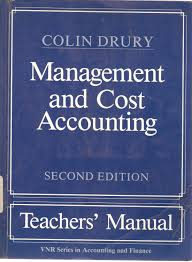 cost accounting second edition abebooks