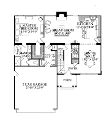 traditional style house plan 3 beds 2 5 baths 1838 sq ft plan