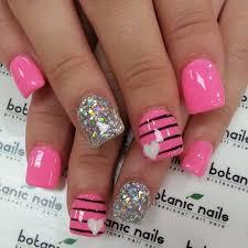 15 pink nail arts you must have pink nails plays and nail nail