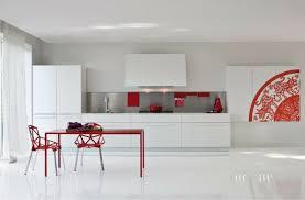 photo de cuisine blanche cuisine blanche contemporaine en 75 jolies photos
