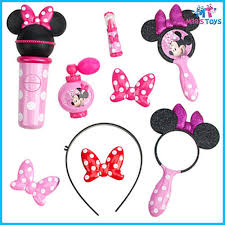 number 1 headband disney minnie mouse popstar beauty set brush mirror headband
