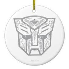 transformers autobots logo 3d car ornament decal for only