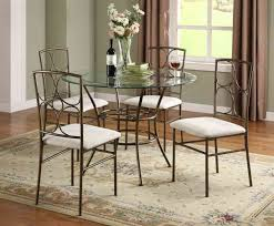 Round Dining Room Table Set by Glass Kitchen Tables For Small Spaces Small Round Dining Table Set