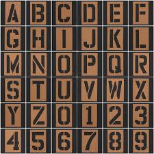 stencil letters u0026 numbers 1 stencil letter a 2 stencil u2026 flickr