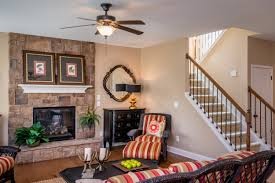 the living room of the albany floor plan by ball homes the