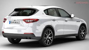 maserati models back maserati levante 2017 3d model sedan sports 3ds max fbx c4d lwo