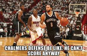 Mario Chalmers Meme - media disrespect of the heat continues team talk miami heat