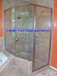 Frameless Glass Shower Door Kits Custom Framed Frameless Glass Shower Doors