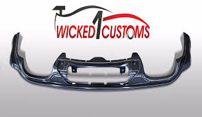 srt8 jeep exhaust jeep srt rear diffuser twin side exhaust u2013 wicked 1 customs