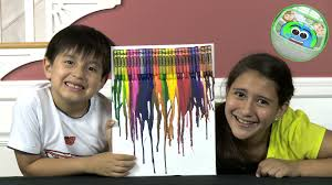 melted crayons art arts and crafts kids creative world youtube