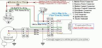 electronic ignition wiring diagram 73 corvette wiring diagram