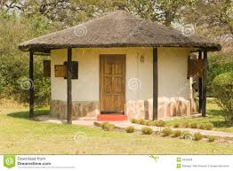 african guest house royalty free stock photos image 6432328