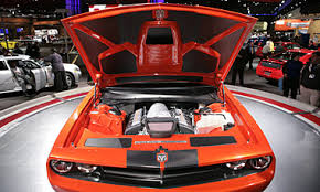 gas mileage dodge challenger dodge challenger engine compartment veiw of a dodge challenger at