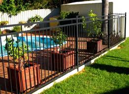 Backyard Pool Fence Ideas Pool Fence Ideas For In Ground Pools Delightful Outdoor Ideas