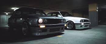 stance bmw e30 bmw e30 duo shows us the magic of older models is still
