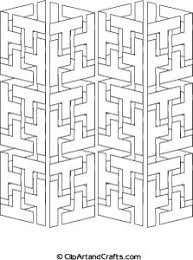 3d geometric pattern coloring pages coloring