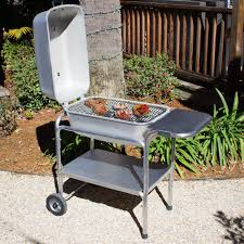 Home Design Kettle Grill Portable Kitchen Cast Aluminum Freestanding Charcoal Grill